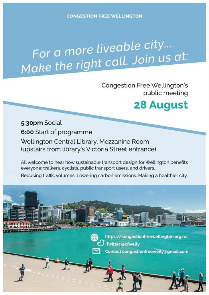 Public Meeting Monday 28 August
